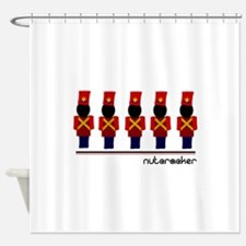 Nutcracker Soldiers Shower Curtain