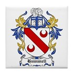 Hummell Coat of Arms Tile Coaster