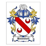 Hummell Coat of Arms Small Poster