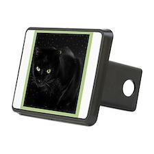 Mystical Black Cat Hitch Cover