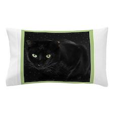 Mystical Black Cat Pillow Case