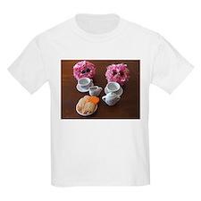 Pom Poms Having a Tea Party T-Shirt