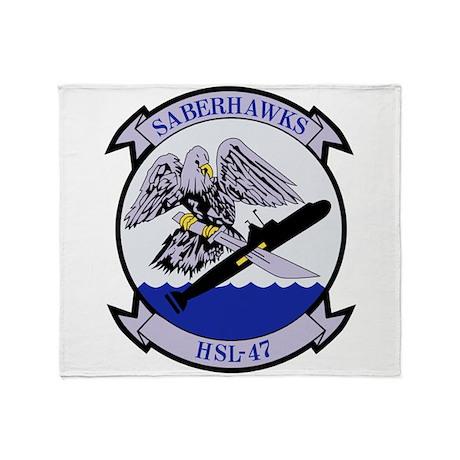 HSL-47 Throw Blanket