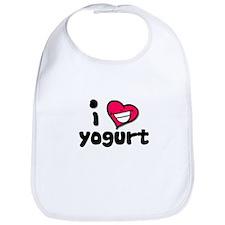 I Love yogurt Bib