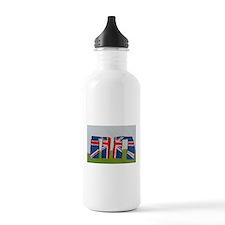 Union Jack Stonehenge Water Bottle