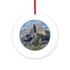 Helaine's Yosemite Ornament (Round)