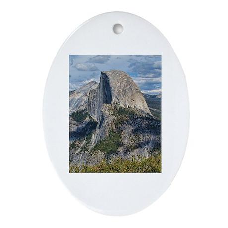 Helaine's Yosemite Ornament (Oval)
