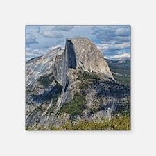 "Helaine's Yosemite Square Sticker 3"" x 3&quot"