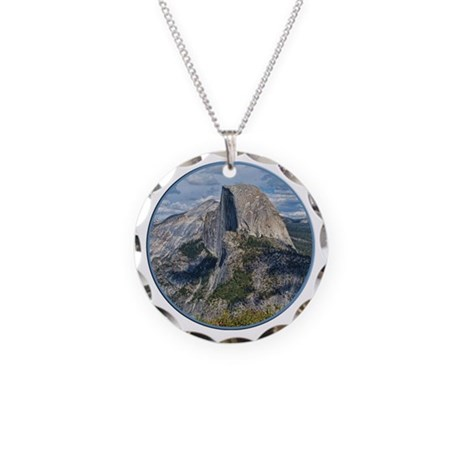 Helaine's Yosemite Necklace Circle Charm
