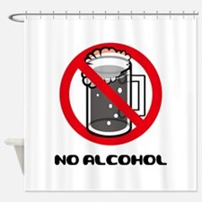 Alcohol Allergy Shower Curtain