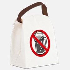 Alcohol Allergy Canvas Lunch Bag