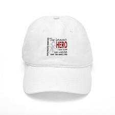 Bravest Hero I Knew Mesothelioma Baseball Cap