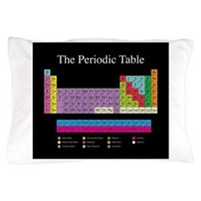 Cute Periodic table Pillow Case