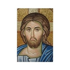 Christ Jesus Rectangle Magnet