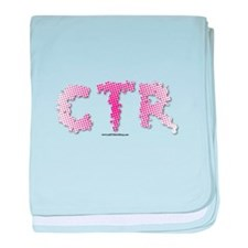 CTR Splatter Half Tone Pink Choose the Right baby