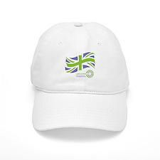 LAM Action union flag + logo Baseball Cap