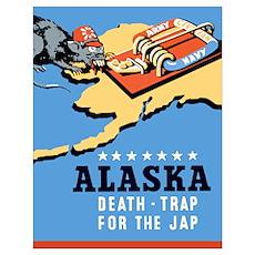 Digitally restored vector war propaganda poster. A Poster