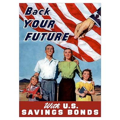 Digitally restored vector war propaganda poster. B Poster