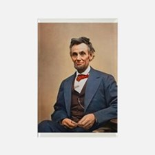 Abraham Lincoln Rectangle Magnet (100 pack)