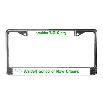 Waldorf School of New Orleans License Plate Frame