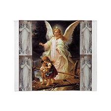 Guardian Angels Throw Blanket