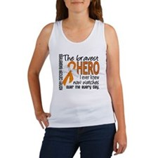 Bravest Hero I Knew Kidney Cancer Women's Tank Top