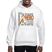 Bravest Hero I Knew Kidney Cancer Hoodie