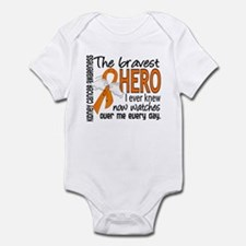 Bravest Hero I Knew Kidney Cancer Infant Bodysuit
