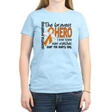Bravest Hero I Knew Leukemia T-Shirt