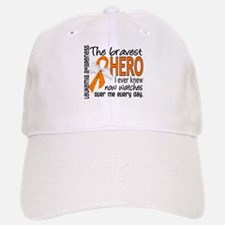 Bravest Hero I Knew Leukemia Baseball Baseball Cap