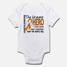 Bravest Hero I Knew Leukemia Infant Bodysuit