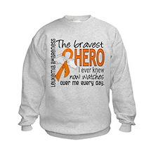 Bravest Hero I Knew Leukemia Sweatshirt