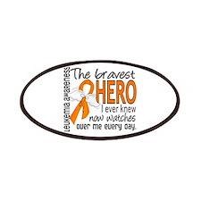 Bravest Hero I Knew Leukemia Patches