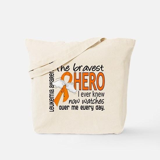 Bravest Hero I Knew Leukemia Tote Bag