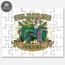 Still Plays with Green Tractors Puzzle