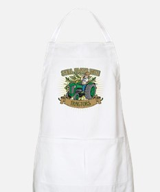 Still Plays with Green Tractors Apron