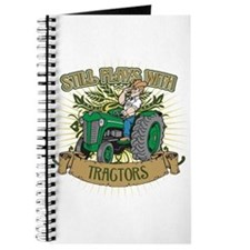 Still Plays with Green Tractors Journal