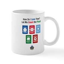 Count the Plays Mug