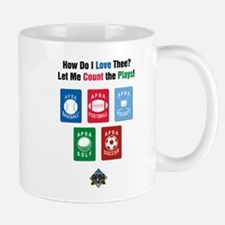 Count the Plays Mug