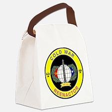 COLD WAR REENACTOR Canvas Lunch Bag