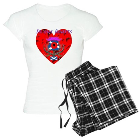 In our hearts military heros Women's Light Pajamas