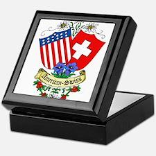 American Swiss Crest Keepsake Box