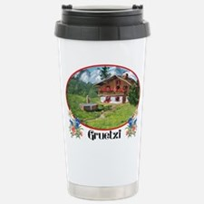 swiss gruetze Stainless Steel Travel Mug