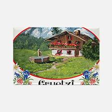 swiss gruetze Rectangle Magnet (100 pack)