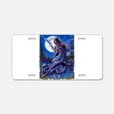 The Queen of Dreams Aluminum License Plate