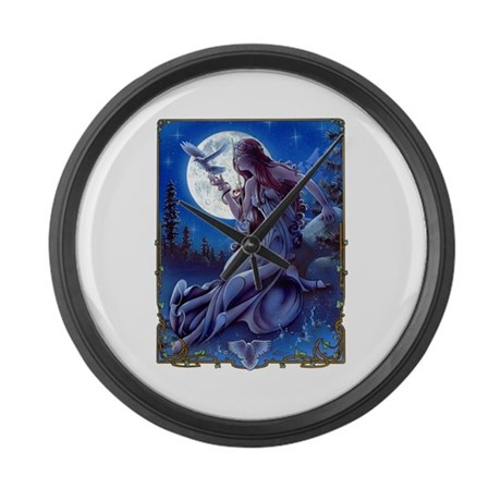 The Queen of Dreams Large Wall Clock