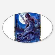 The Queen of Dreams Sticker (Oval)