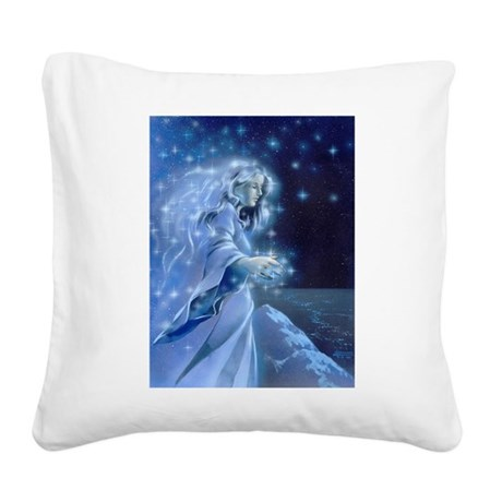 Elbereth Square Canvas Pillow