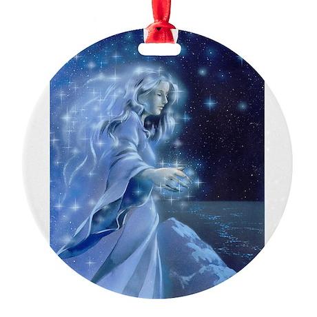 Elbereth Round Ornament