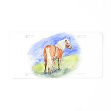 Pony.jpg Aluminum License Plate